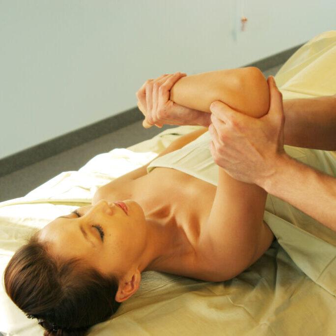 massage therapy - arm massage